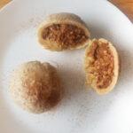 Easy apple dumplings recipe (with cinnamon and walnut)