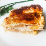 Roasted chicken with zucchini
