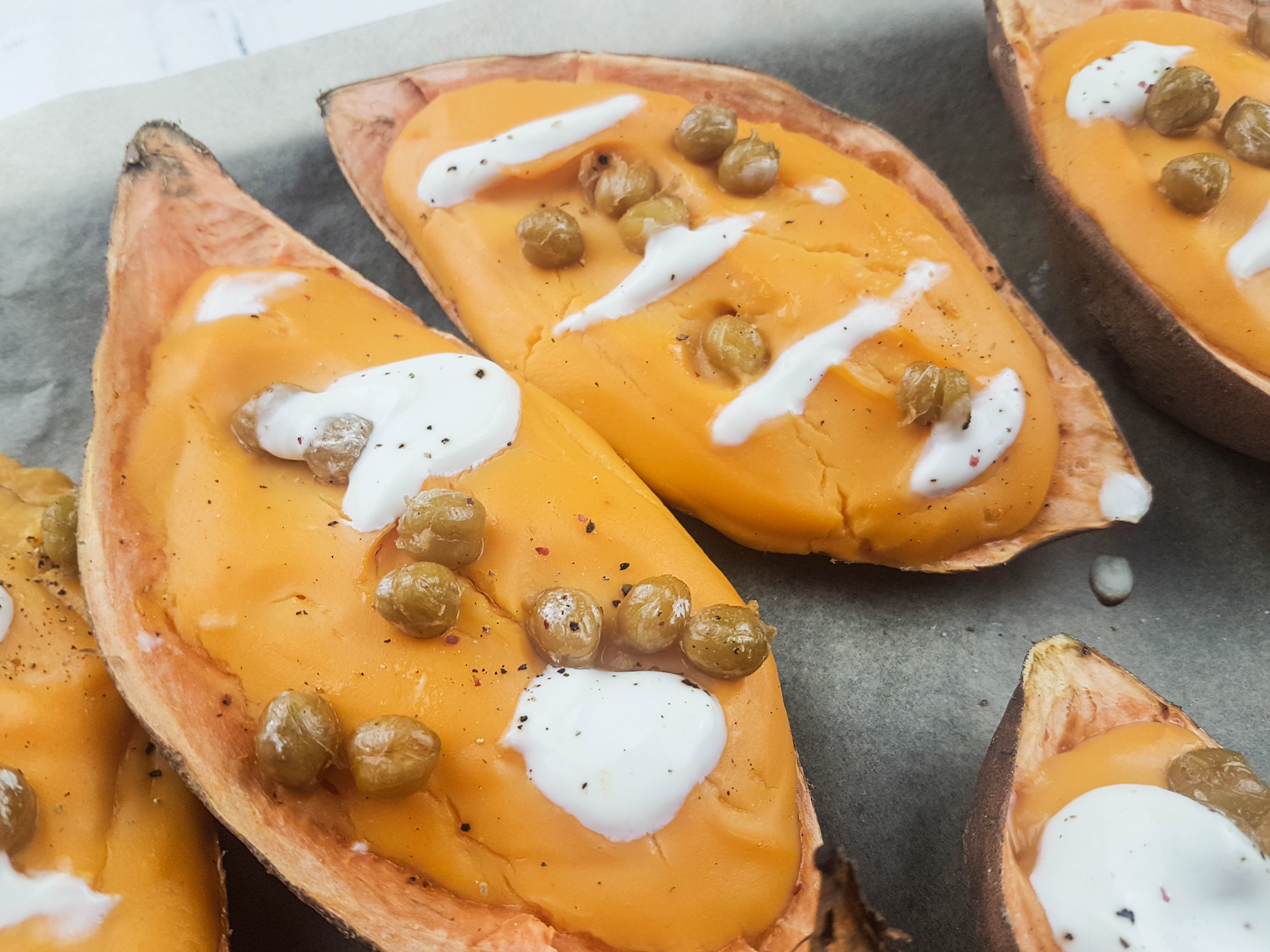 Bake sweet potatoes oven