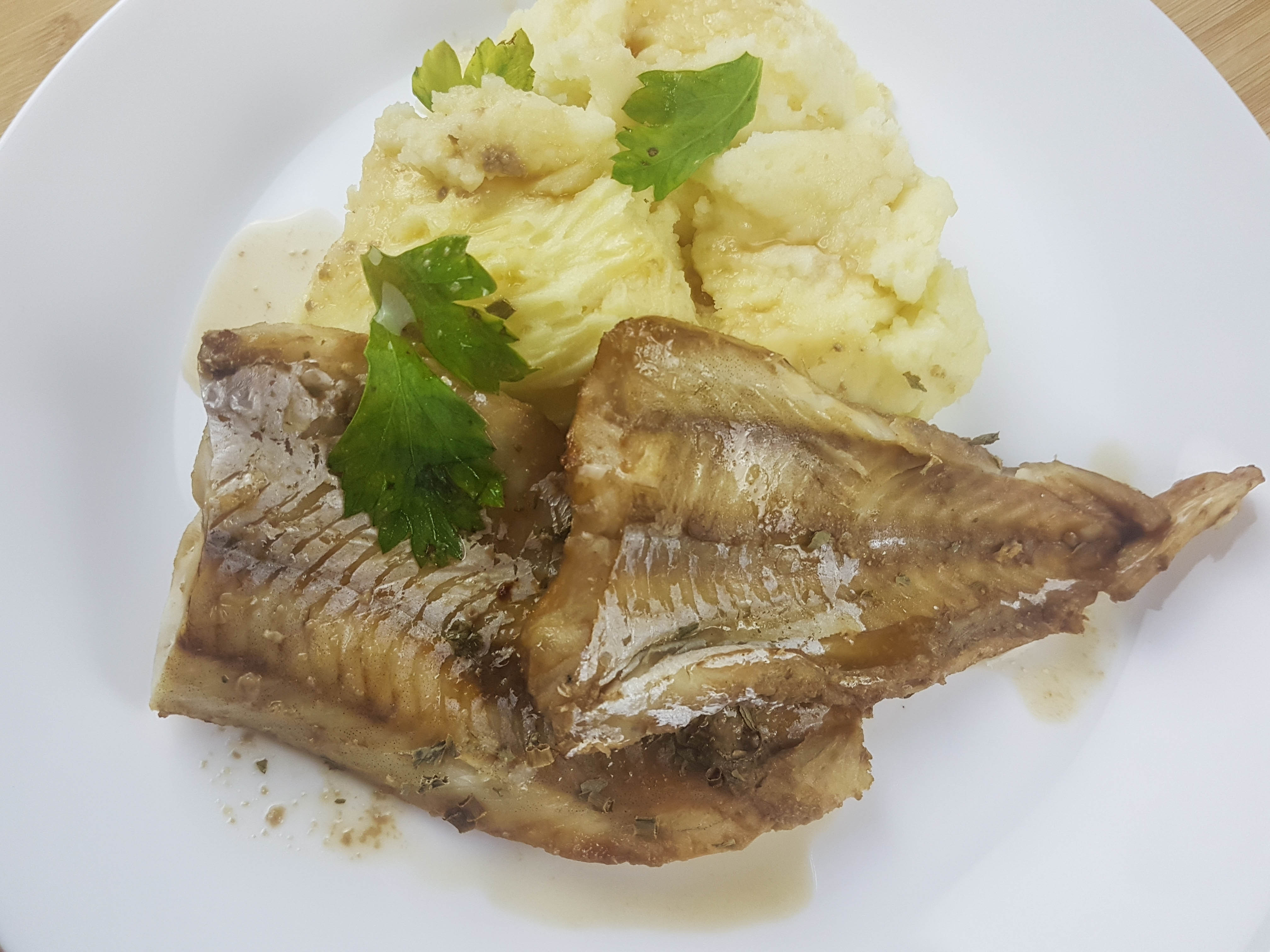 oven baked hake fish